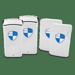 2 x Plug-in + 2 x Portable