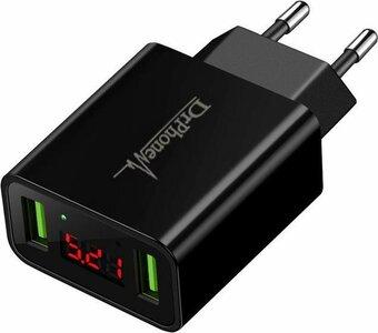 USB 2.0 Amp.  Snellader